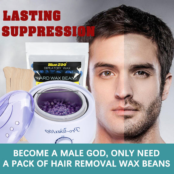M Professional wax bean hair removal three-piece suit【Cash on delivery】 - Yinaje