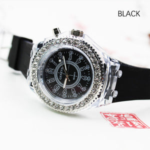M【Buy 1 free 1】Korean luminous rhinestone fashion watch-【Cash on delivery】 - Yinaje