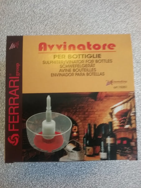 Avvinatore Bottle Washer