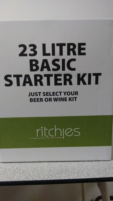 Basic Equipment Starter Kit - 23 litre