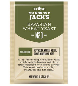 M20 Bavarian Wheat Yeast (10g)