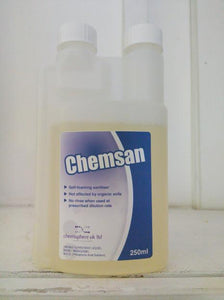 Chemsan No Rinse Sanitiser (250ml)