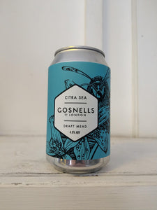 Gosnells Citra Sea Mead 4% (330ml can)