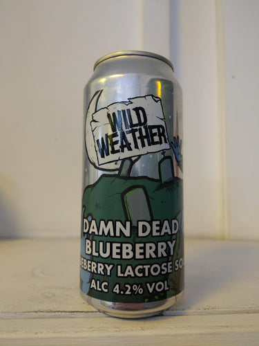 Wild Weather Damn Dead Blueberry 4.2% (440ml can)
