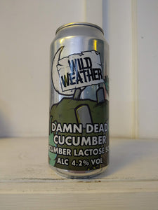 Wild Weather Damn Dead Cucumber 4.2% (440ml can)