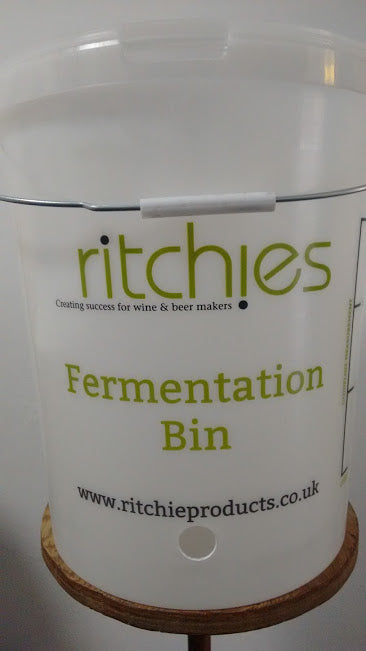 Fermentation Bin - Hole for Tap - 25 Litre