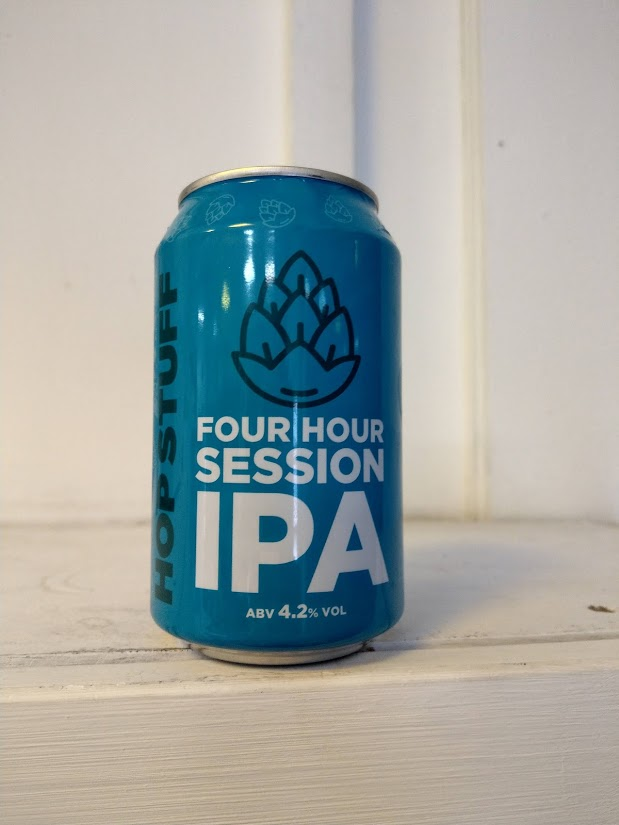 Hop Stuff Four Hour Session IPA 4.2% (330ml can)