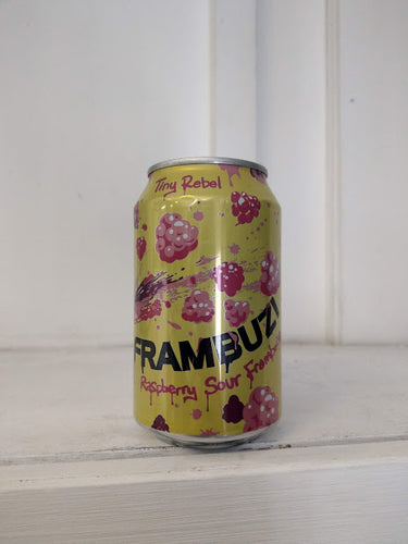 Tiny Rebel Frambuzi 4.3% (330ml can)