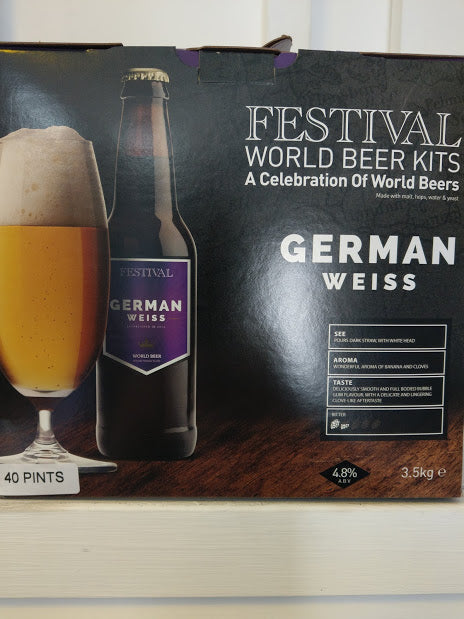 Festival German Weiss World Beer Kit