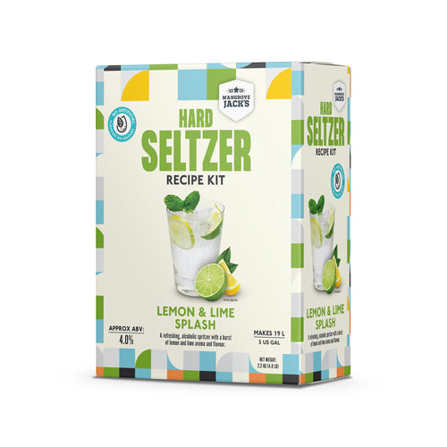 Mangrove Jack's Lemon & Lime Splash Hard Seltzer Kit