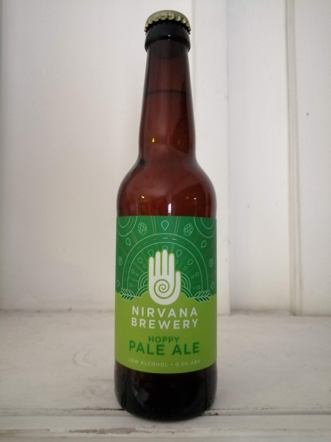 Nirvana Hoppy Pale 0.5% (330ml bottle)