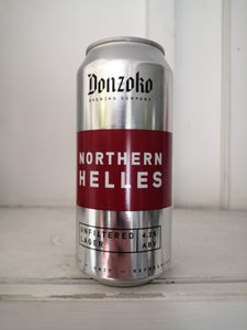Donzoko Northern Helles 4.2% (440ml can)