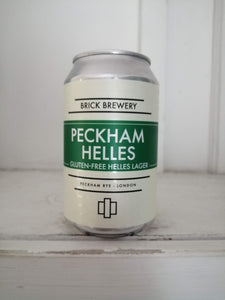 Brick Peckham Helles 4.2% (330ml can)