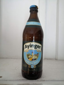 Ayinger Lager Hell 4.9% (500ml bottle)