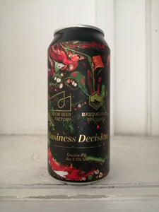 London Beer Factory Business Decision 8.7% (440ml can)