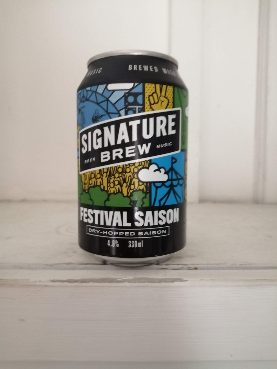 Signature Brew Festival Saison 4.8% (330ml can)