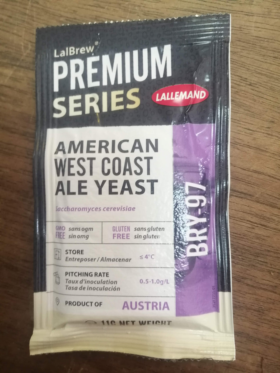 Lallemand Bry-97 West Coast Ale Yeast (11g)