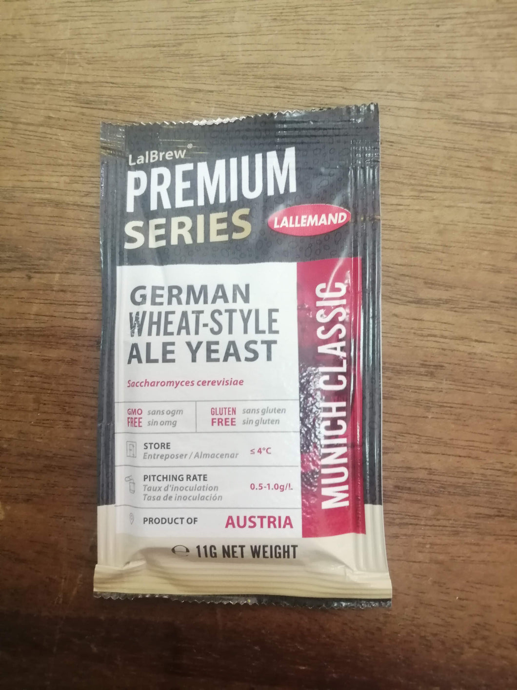 Lallemand Munich Classic German Wheat-Style Yeast (11g)