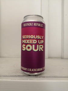 Beatnikz Republic Seriously Mixed Up Sour! 4.3% (440ml can)