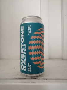 Overtone 90 Mile Pale 5.5% (440ml can)