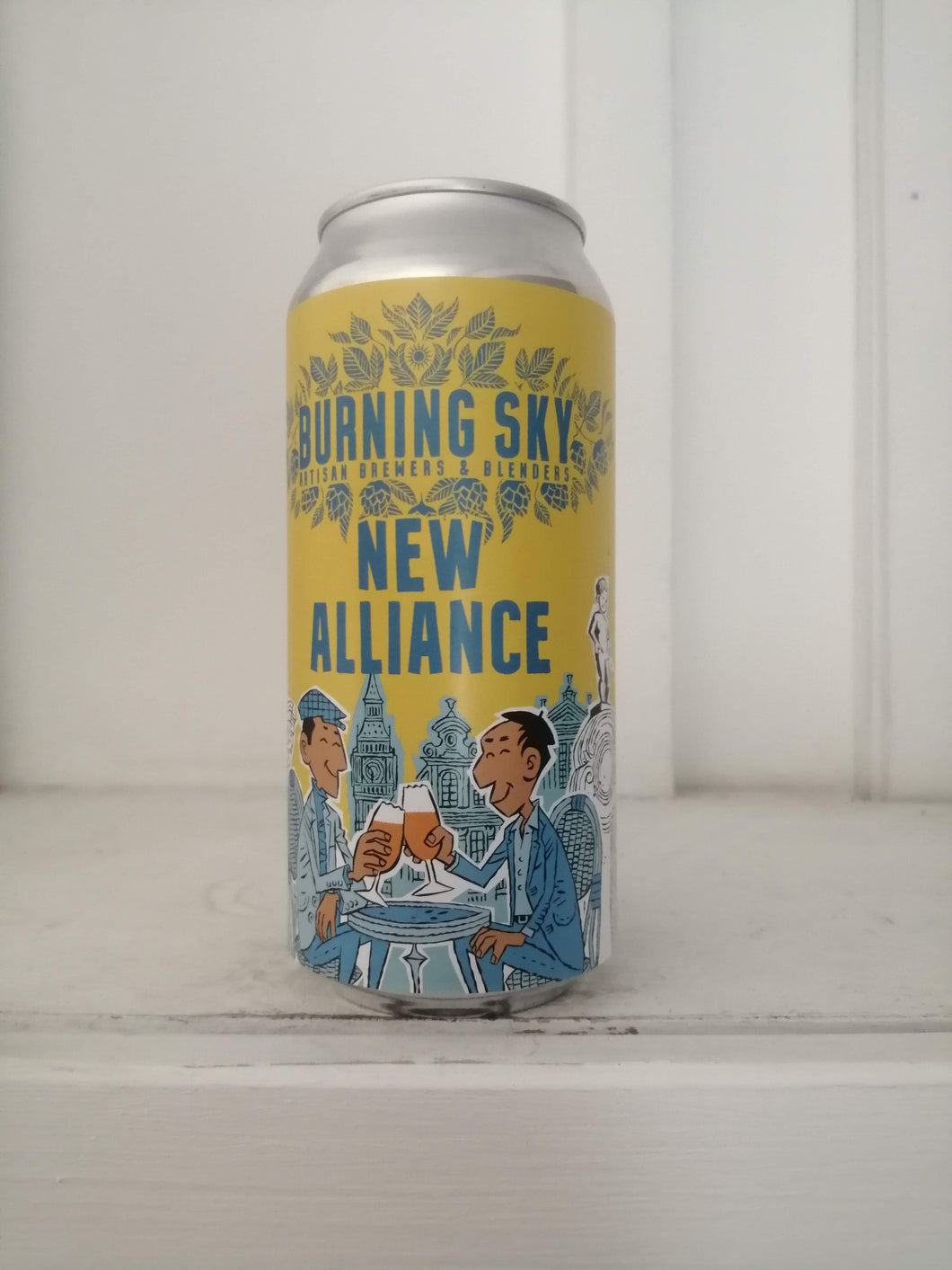 Burning Sky New Alliance 4.5% (440ml can)