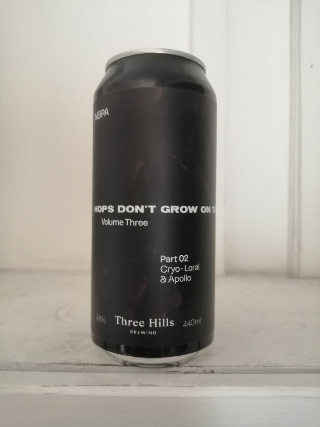 Three Hills Hops Dont Grow On Trees Vol 3 Part 2 4.8% (440ml can)