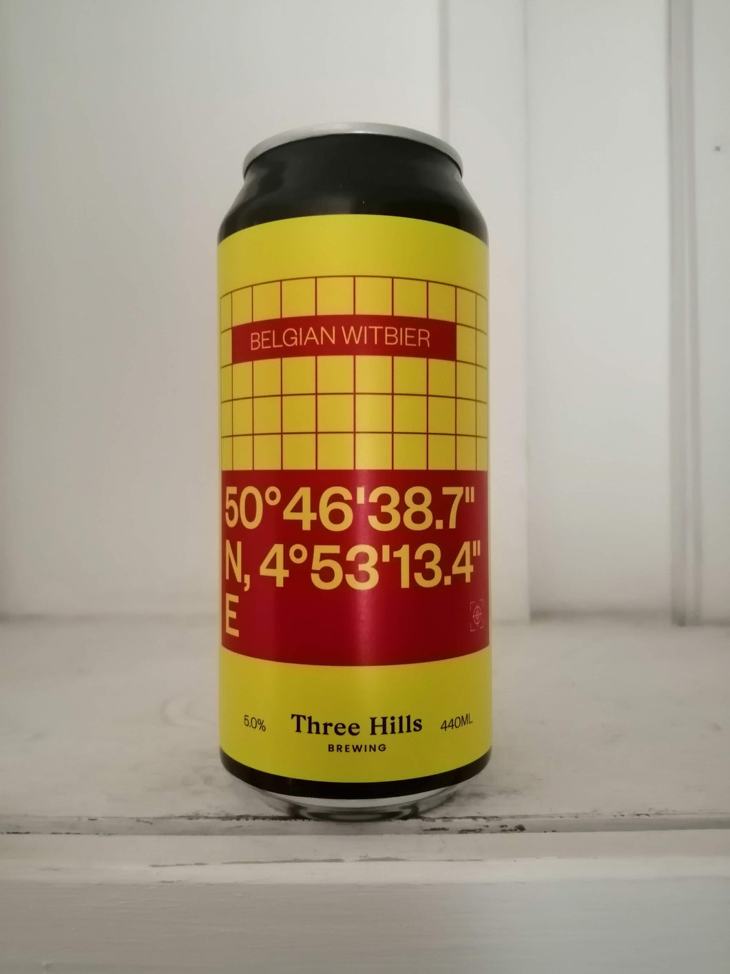 Three Hills Belgian Witbier 5% (440ml can)