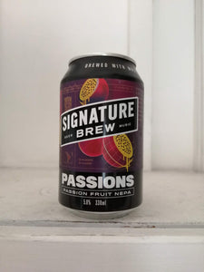 Signature Brew Passions 5% (330ml can)