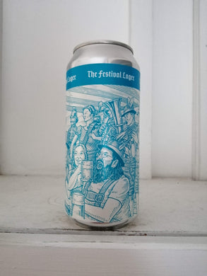 Anspach & Hobday The Festival Lager 5.6% (440ml can)