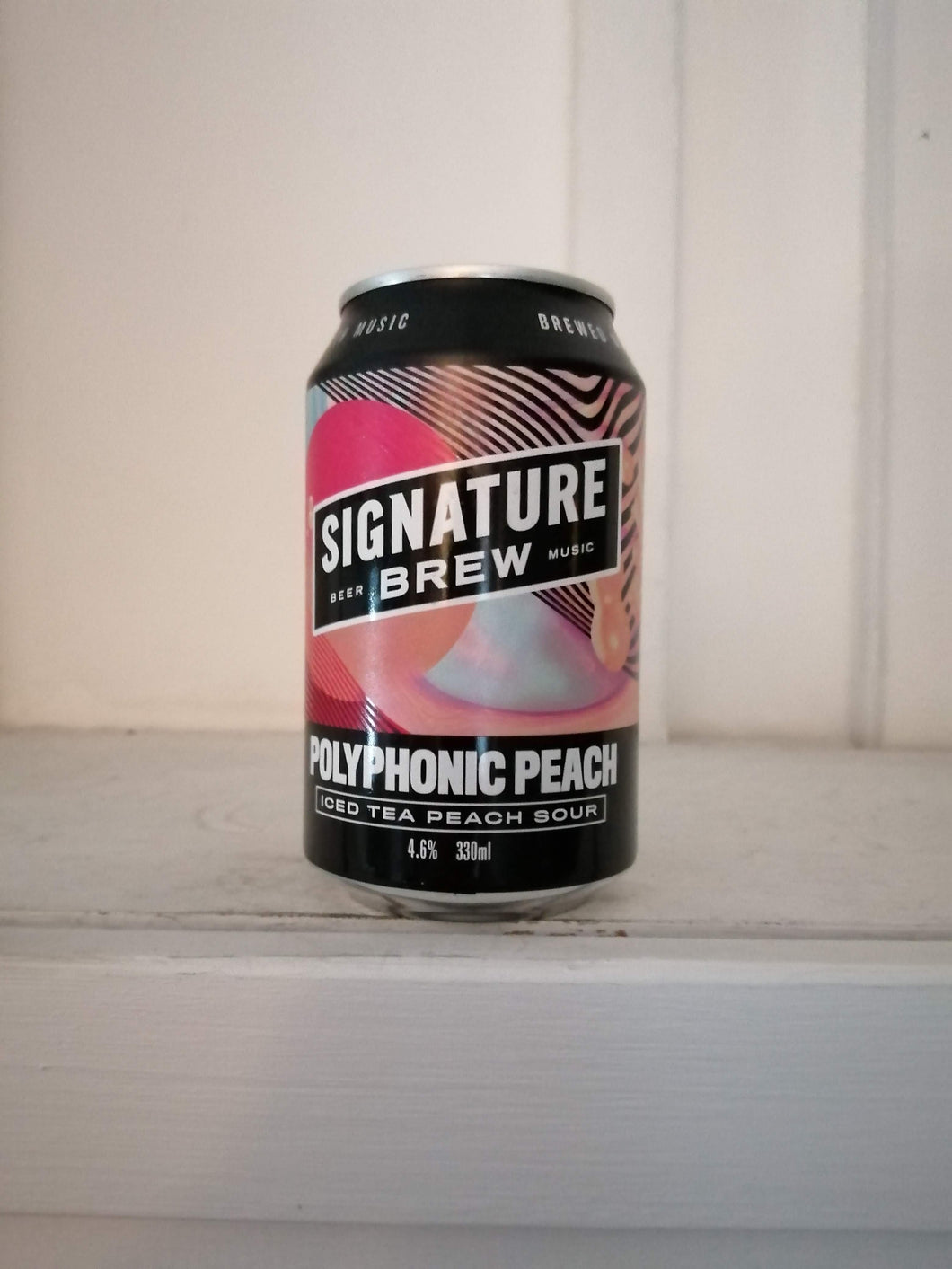 Signature Brew Polyphonic Peach 4.6% (330ml can)