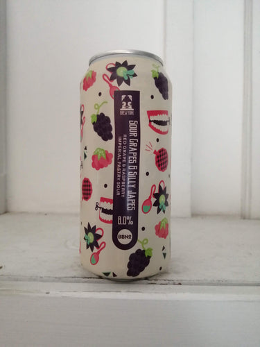 Brew York Sour Grapes & Silly Japes 8% (440ml can)