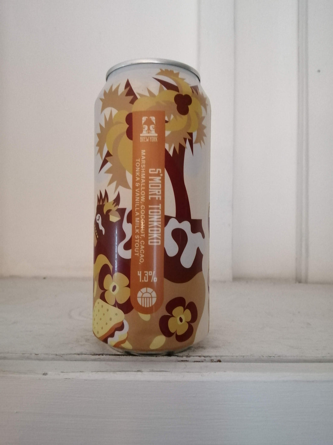 Brew York S'More Tonkoko 4.3% (440ml can)