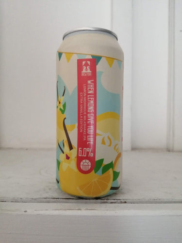 Brew York When Lemons Give You Life Extra Vanilla Edition 6% (440ml can)