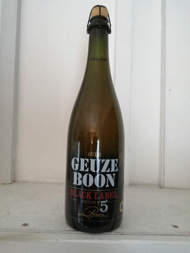 Boon Black Label 5th Edition 7% (750ml bottle)