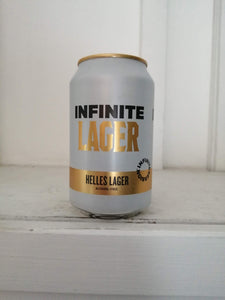 Infinite Lager 0.5% (330ml can)