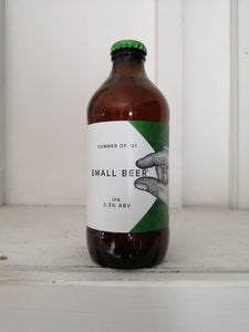 Small Beer Organic IPA 2.3% (350ml bottle)