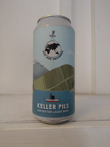 Lost & Grounded Keller Pils 4.8% (440ml can)