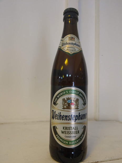 Weihenstephan Kristal Weisbier 5.4% (500ml bottle)