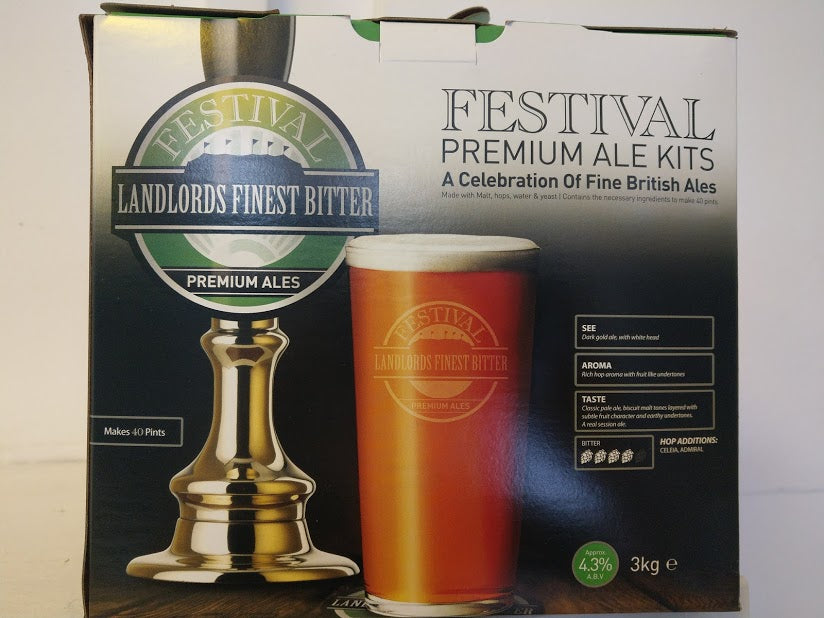 Festival Landlords Finest Bitter Premium Ale Kit