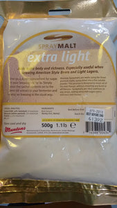 Muntons Extra Light Spraymalt (500g)