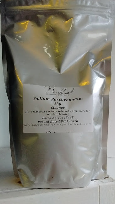 Neales Brewing Supplies Sodium Percarbonate (1kg)