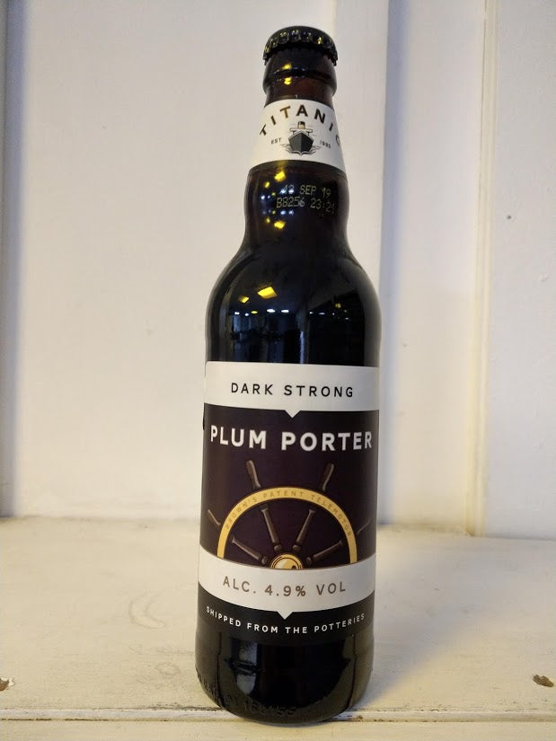 Titanic Plum Porter 4.9% (500ml bottle)