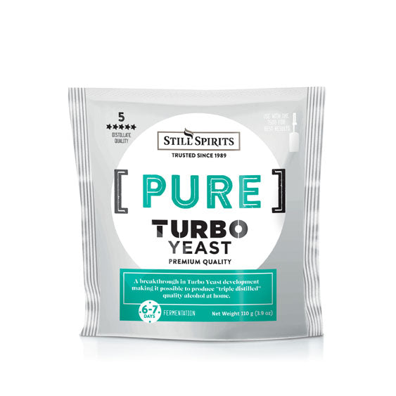 Still Spirits Pure Turbo Yeast (Urea Based) 110g