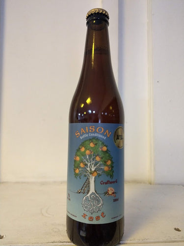 Craftwork Saison Zest 7% (500ml bottle)