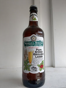 Samuel Smiths Organic Lager 5% (500ml bottle)