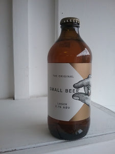 Small Beer Lager 2.1% (350ml bottle)