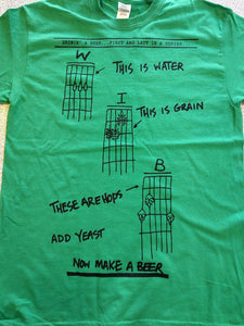 Make a Beer T-Shirt Green **Limited Edition**