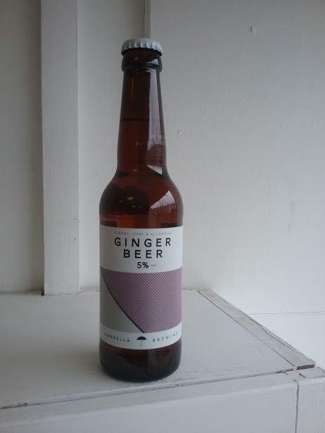 Umbrella Alcoholic Ginger Beer 5% (330ml bottle)