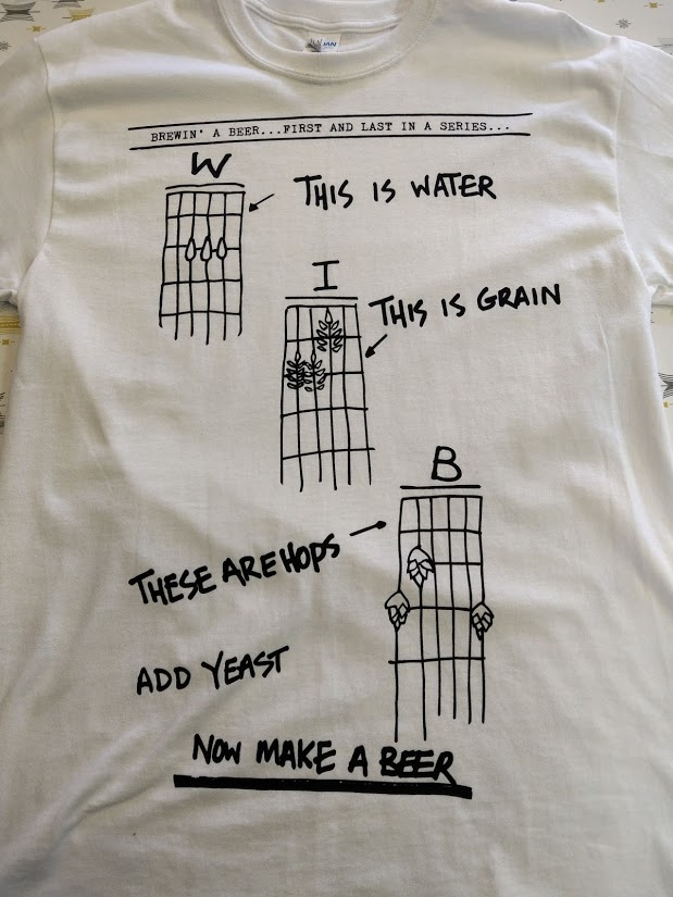 Make a Beer T-Shirt White