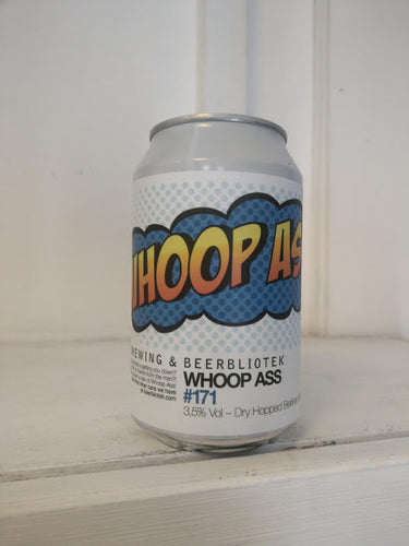 Beerbliotek Whoop Ass 3.5% (330ml can)